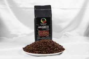100% Arabica Roasted Coffee Bean in coffee production line using for espresso coffee machine