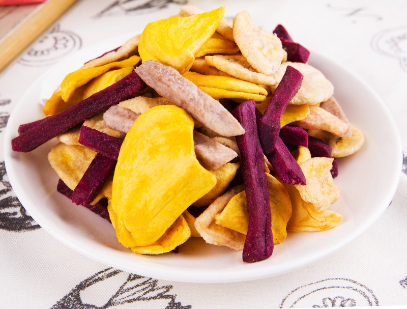 Delicious Vietnam Gaobang Mixed Fruit Chips with Competitive Price