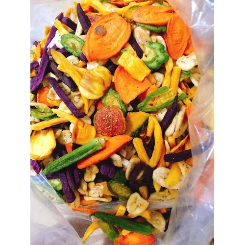 Hot sale products!! 100% Natural and sweet dried food vacuum freeze dried mix fruit