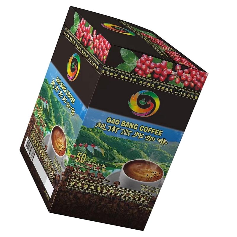 GaoBang Black instant coffee 2.5 grams Vietnam