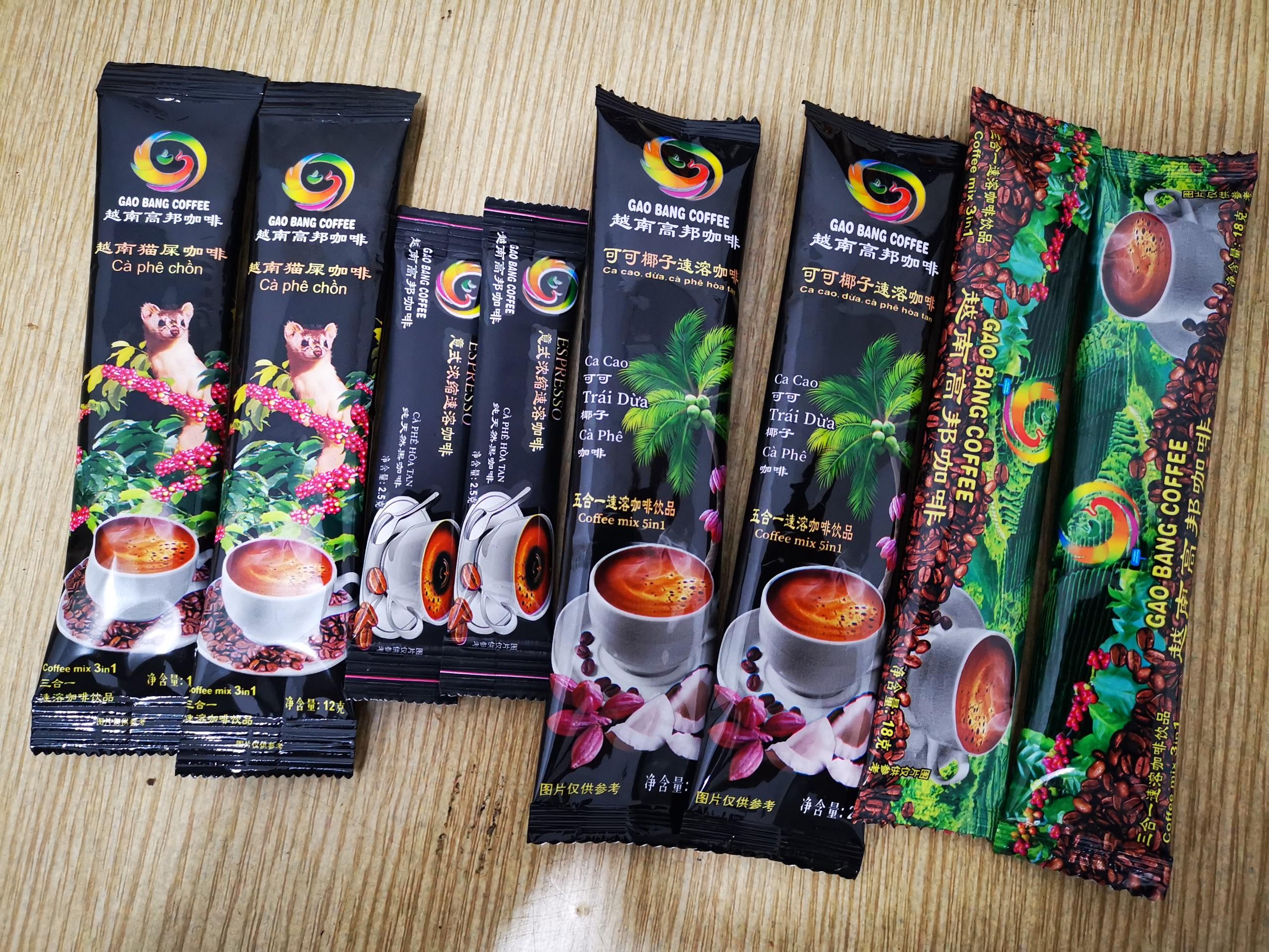 Gaobang 3in1 Coffee Instant Powder 12gram Vietnam